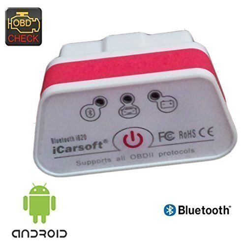 5 opinioni per icarSoft i620 OBD 2 Dispositivo diagnosi CanBus Bluetooth