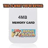 Paper Mario: The Thousand-Year Door - 100% UNLOCKED Memory Card