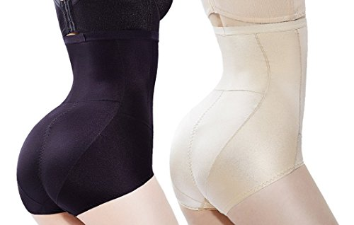 HOLYSNOW Women High Waist Tummy Shapewear Seamless Control Panty