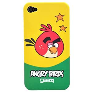 Gear 4 Angry Birds Hard Case Cover for iPhone 4 - Red Boomerang Bird
