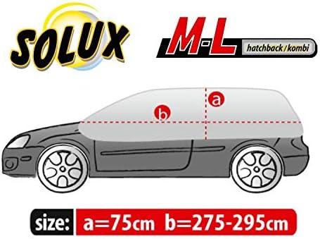 Halbgarage OPTIMO ML geeignet f/ür Dacia Sandero Sonnen UV Schutz Abdeckung