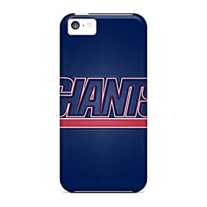 JonBradica Iphone 5c Scratch Resistant Hard Phone Case Support Personal Customs Trendy New York Giants Pattern [PAj1169GdeO]