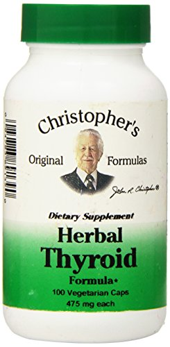 Dr Christopher's Formula Herbal Thyroid, 100 Count - Herbal Thyroid Support