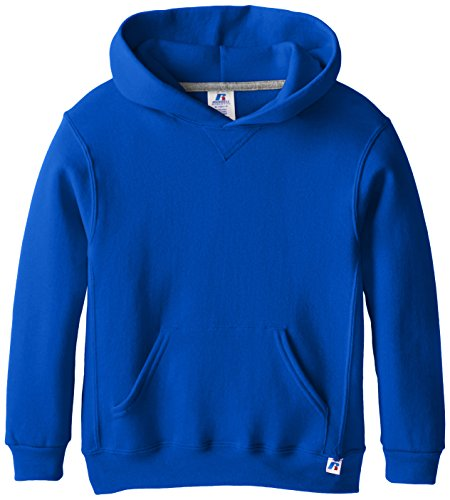 - Russell Athletic Big Boys' Fleece Pullover Hood, Royal, Small