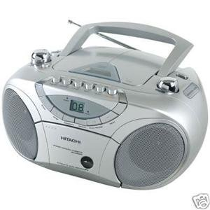 Hitachi Cx74uk Cd Radio Cassette Player Rrp 163 44 99 Amazon