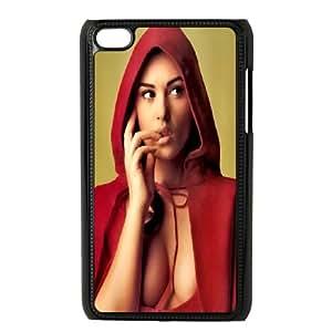 iPod Touch 4 Case Black Monica Bellucci 2 Y4Y3TY