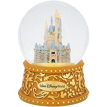 Walt Disney World Castle Musical Snowglobe A Dream is a Wish Your Heart Makes