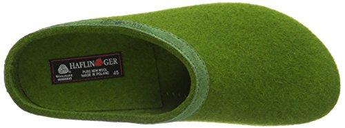 Haflinger Torben Unisex Voksne Grønne Hjemmesko (36 Græs Grøn) 8gbZsjCBwx