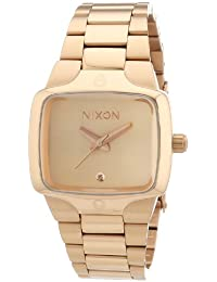 Nixon Small Player Womens Watch One Size All Rose Gold