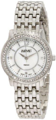 Diamond Self Winding Bracelet (August Steiner Women's ASA827SS Dazzling Diamond Bracelet Watch)