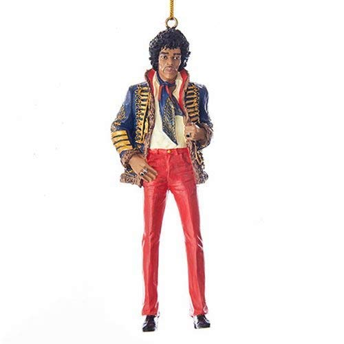Kurt Adler 5RESIN JIMI HENDRIX ORNAMENT
