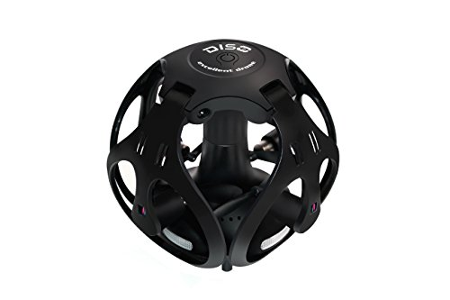 Mini Drone 2.4Ghz RC Remote Control Quadcopter Spherical Folding Four-axis Drone Toys for Kids and Adults Beginners – Headless Mode, 3D Flip, One Key Return, Black