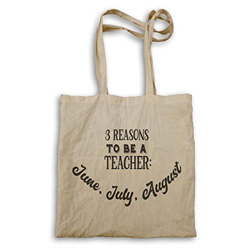 Drei Gründe, Lehrer zu sein Tragetasche t821r