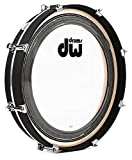 DW Design Series Maple Pancake Bass Drum - 20'' - Black Satin