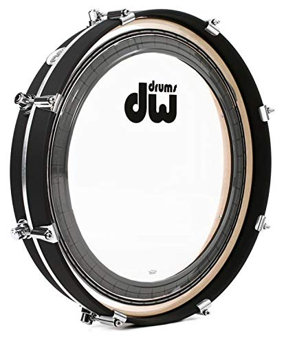 DW Design Series Maple Pancake Bass Drum - 20 Inches - Black Satin by DW