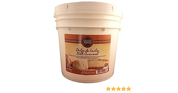 Amazon.com : Gaucho Ranch Dulce De Leche Milk Caramel Topping 1 Gal : Grocery & Gourmet Food