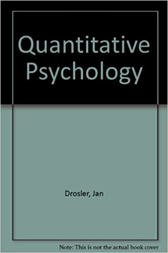 Read Quantitative Psychology PDF, azw (Kindle), ePub, doc, mobi