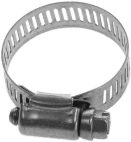 Choice Marine - Plumber's Choice 78007 Marine Grade Number4 Hose Clamp for 1-1/2-Inch Internal Diameter Hose with 1-1/16-Inch to 2-Inch Range (5-Pack)