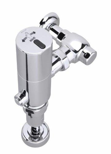 Kohler K-10674-CP Wave 1.6 GPF Exposed Toilet Flushometer, Polished Chrome Exposed Toilet Flushometer