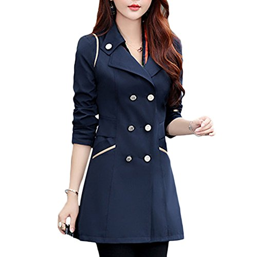 Double Breasted Trench Jacket Outwear product image