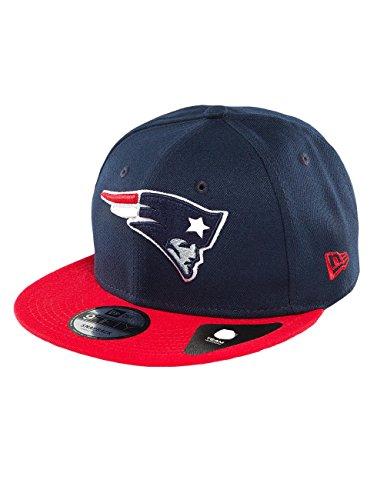 狼たっぷり不承認ニューエラ (New Era) 9フィフティ スナップバック キャップ - NFL ニューイングランド?ペイトリオッツ (New England Patriots) ネイビー
