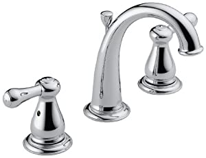 Perfect Delta 3575LF Leland Two Handle Widespread Bathroom Faucet, Chrome