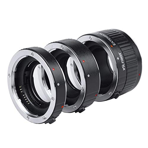 Viltrox Metal Mount Auto Focus AF Macro Extension Tube Ring Set 12mm,20mm,36mm for Canon EF EF-S Lens DSLR Camera 760D 700D 80D 70D 5DII 5DIII 1300D