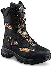 "Irish Setter Men's Ridge Topper 9"" Insulated Waterproof Hunting Boots 800 Gram, Brown/Realtree Xtra (Wide Sizes)"