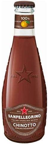サンペレグリノ イタリアンスパークリングドリンク キノット 200ml瓶×24本入×(2ケース)