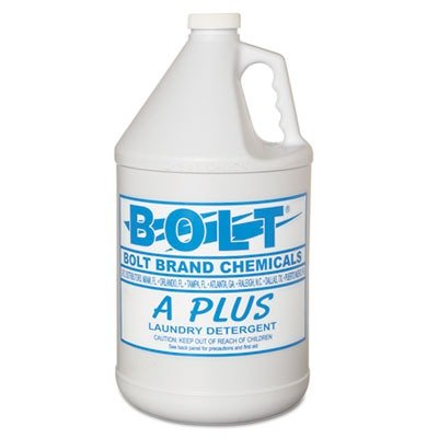 KESAPLUS4 - Bolt Industrial Liquid Laundry Detergent, 1 Gal Bottle