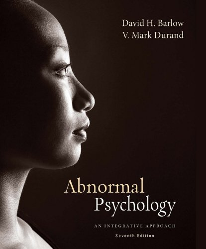 Abnormal Psychology: An Integrative Approach Pdf