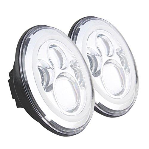 Best Sunpie Chrome Jeep Wrangler Led Headlights Bulb With