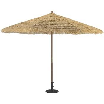 Amazon.com : TropiShade 11-Foot Thatched Market Umbrella ...