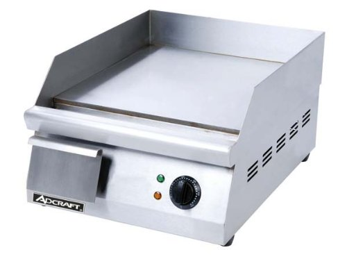 16''W Griddle, Heavy Duty, Electric, 120V, Lot of 1 by Adcraft
