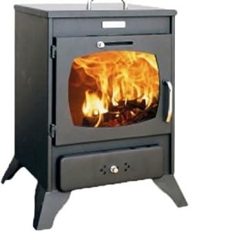 Estufa de leña Log quemador de combustible sólido pequeño horno ...