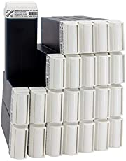 EpilWax Waxpatronen set met warmwaspatronen voor ontharing, ontharingswas, 100 ml, roll-on navulling (azulene, 24)