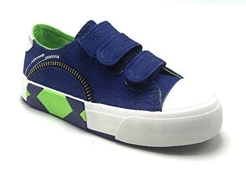 Kids and Toddlers Unisex Canvas Classic Summer Sneakers - Featuring 9 Styles in (Devin Lace)