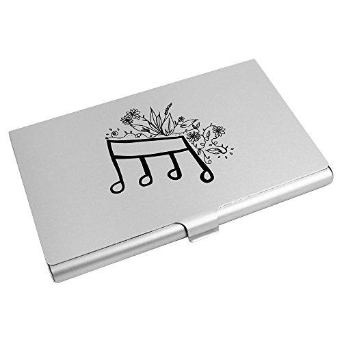 Music Azeeda CH00009912 'Floral Holder Card Credit Card Business Note' Wallet 15BwF