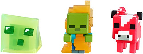 Minecraft Collectible Figures Set 3 Pack