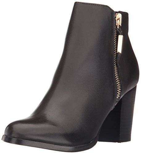 Aldo Women's Mathia Ankle Bootie, Black Leather, 8 B (Aldo Black Leather)
