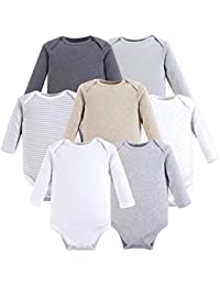 Unisex Baby Cotton Long-Sleeve Bodysuits