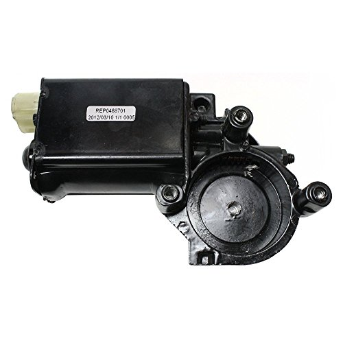 Window Regulator Motor compatible with Oldsmobile Delta 88 76-90 New W/New Gaskets ()