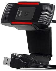 Webcam Gamer Para Computador Pc Notebook Lives Videos Youtube Usb Com Microfone P2