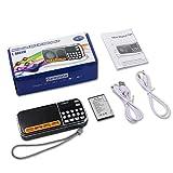 Mini Radio Portable AM/FM - Aocome Rechargeable