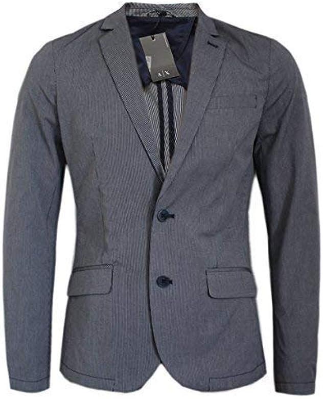 pulcro disfruta del mejor precio online Armani Exchange Hombre Mini Blazer de rayas / CHAQUETA ...