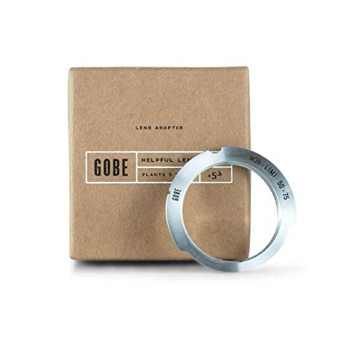 (Gobe Lens Adapter: Compatible with M39-mount Lens and Leica M-Mount Camera Body (50-75mm Frame)