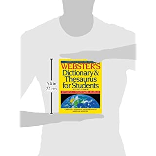 Webster's Dictionary & Thesaurus for Students, Second Edition