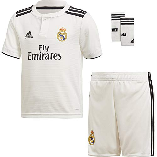adidas 2018-2019 Real Madrid Home Mini Kit