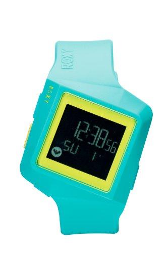 Roxy W231DR-AQU33T - Reloj digital de cuarzo para mujer con correa de plástico, color multicolor: Amazon.es: Relojes