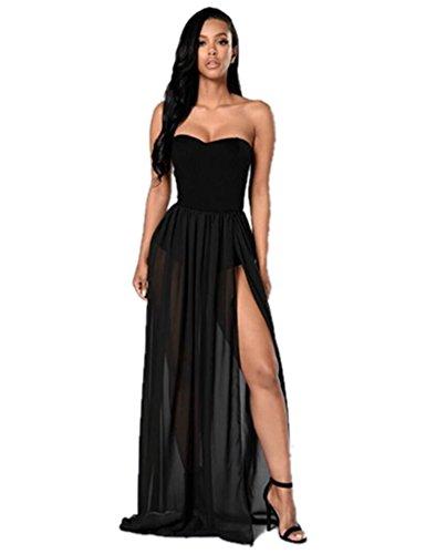 long dress with split - 1